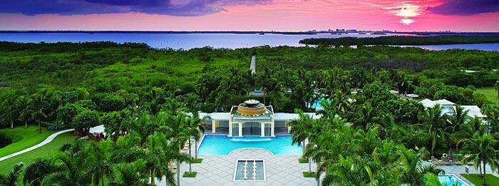 Hyatt Regency Coconut Point Resort and Spa aerial