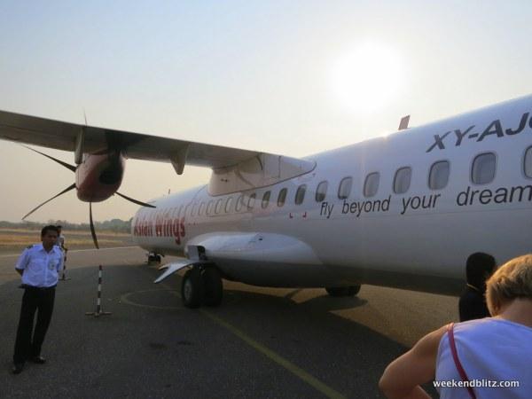 Our aircraft: ATR 72-500