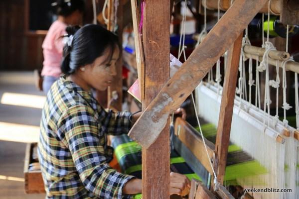 Silk workshop