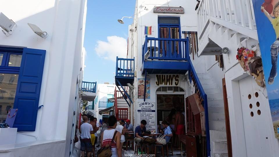 mykonos town centre 2