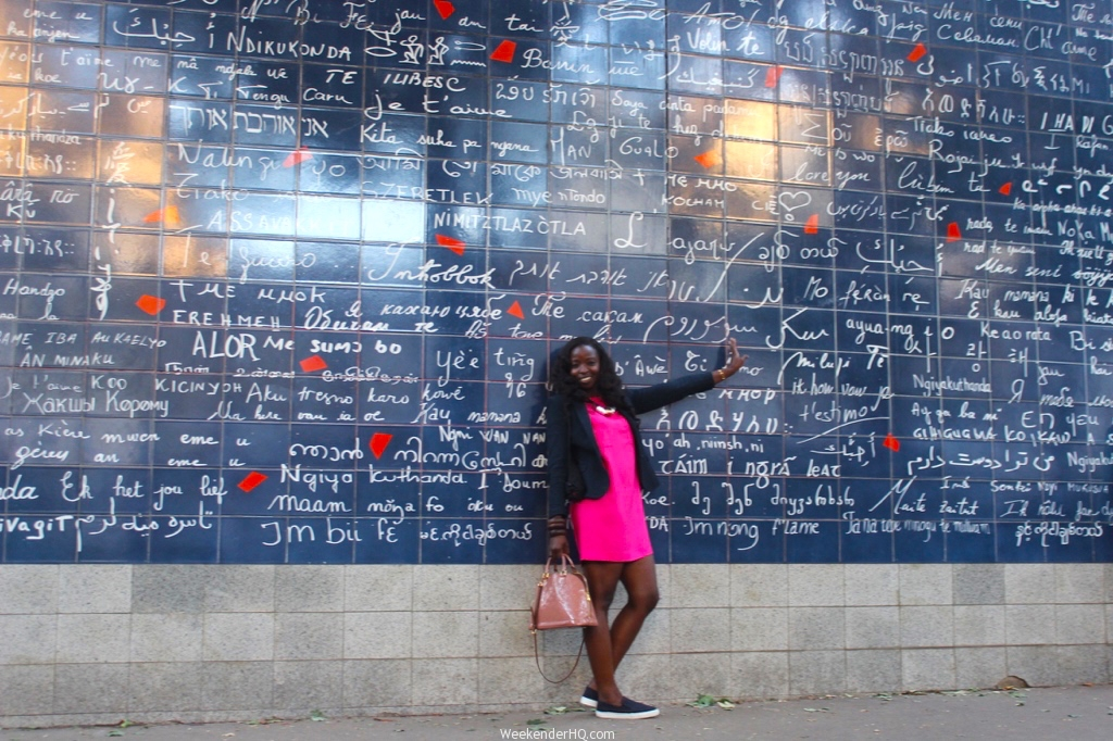Wall of love in Paris 1