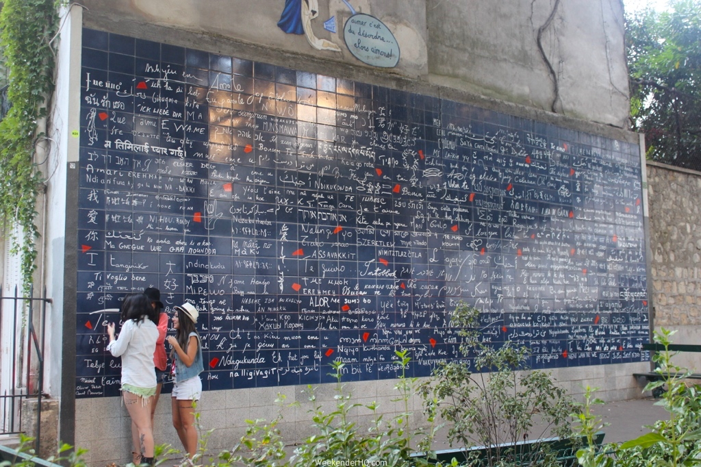Wall of love in Paris 4