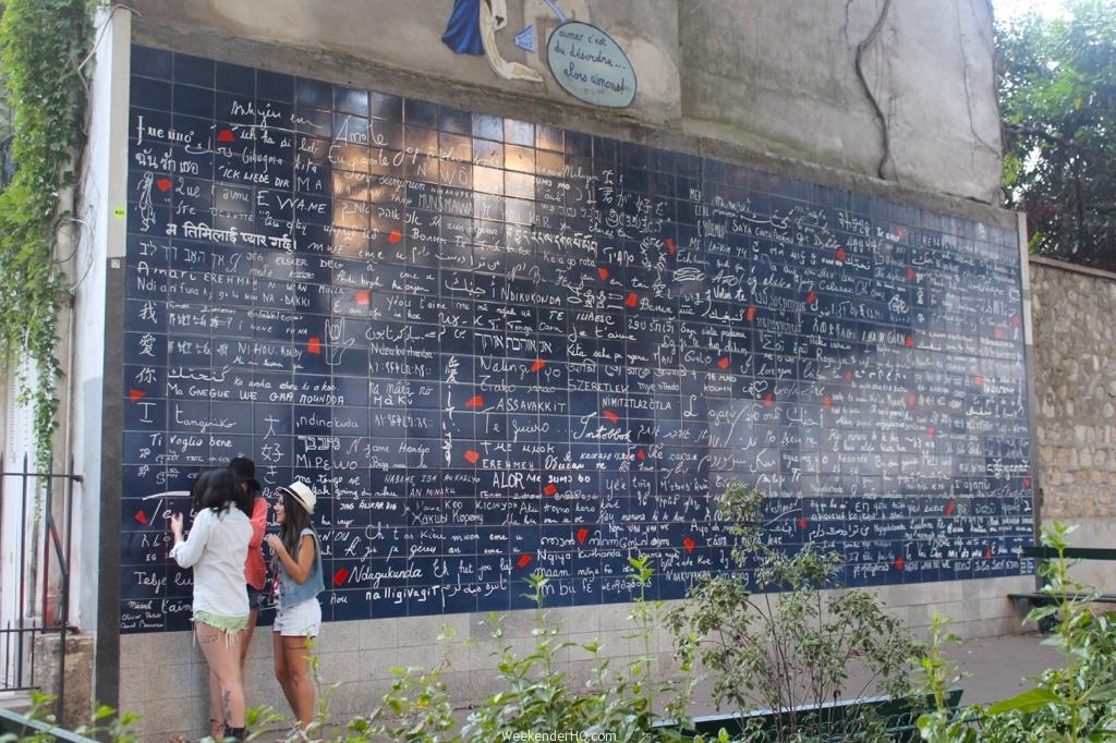 Wall of love in Paris 4