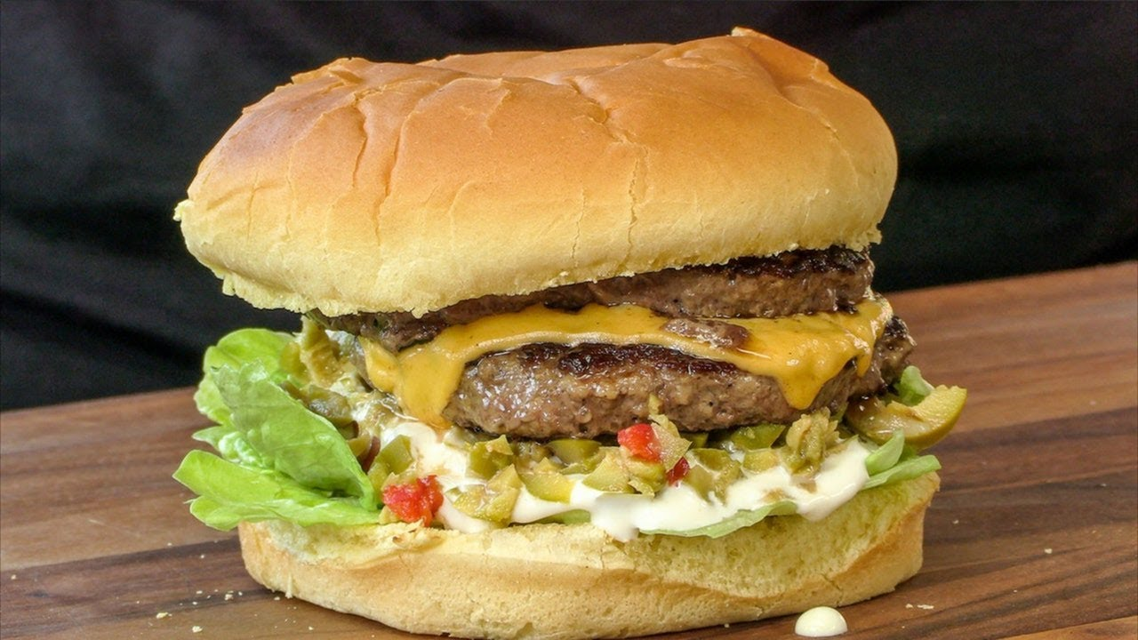 Copycat Recipe Mr Fables Olive Burger With Cheese Ballistic Bbq Weekend Griddle