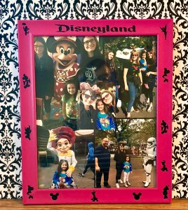 DIY Custom Disney Frame