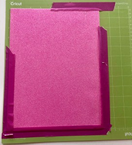 How to cut foam with the cricut