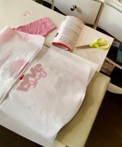 how to layer heat transfer vinyl