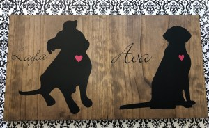 personalized do silhouette