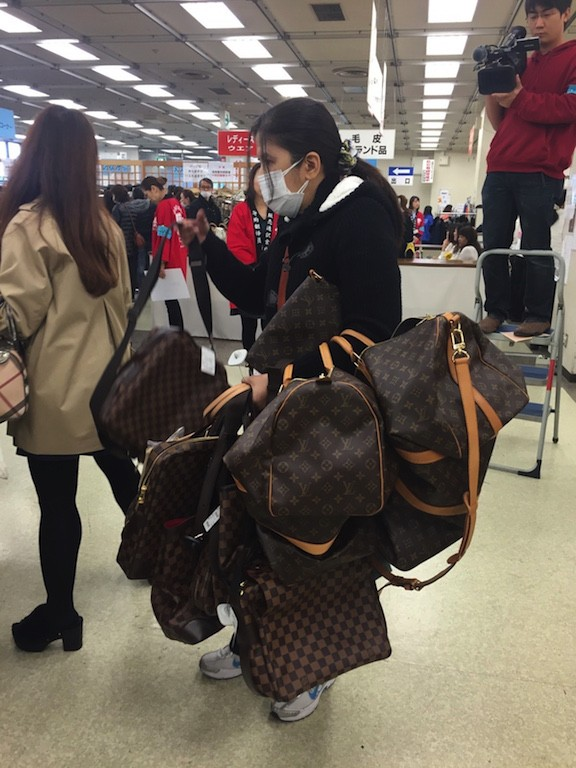 Louis Vuitton Luxury Sales Tokyo