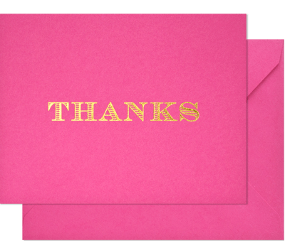 The Anatomy of a Thank You Note