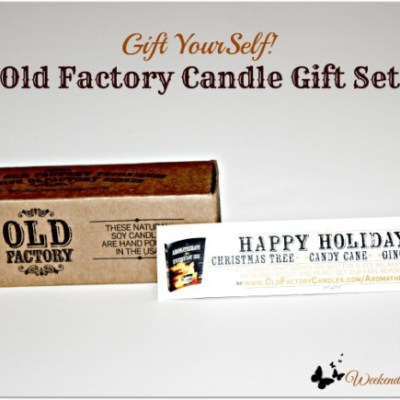 Gift Yourself : Old Factory Candle Gift Sets