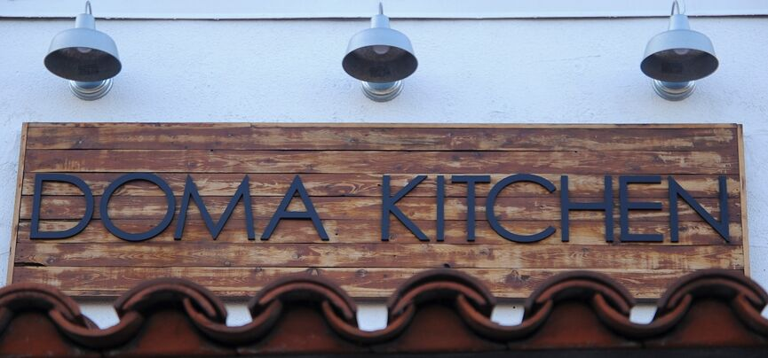 Doma Kitchen Sign