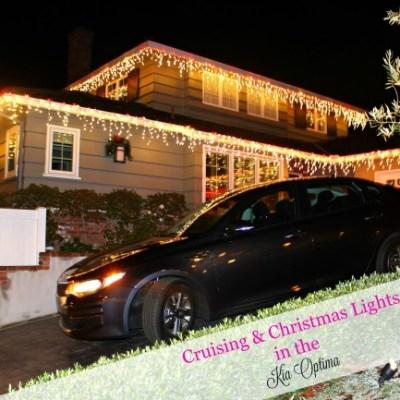 Cruising & Christmas Lights in the Kia Optima