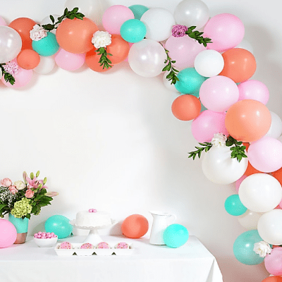 Take the Party Up a Notch: How to Create a Balloon Arch