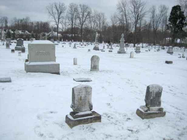 Walking in graveyard
