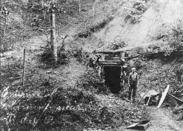 picture of John Allen, gold miner