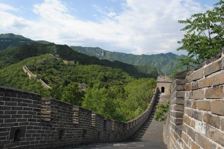 the Great Wall on a travel bucket list