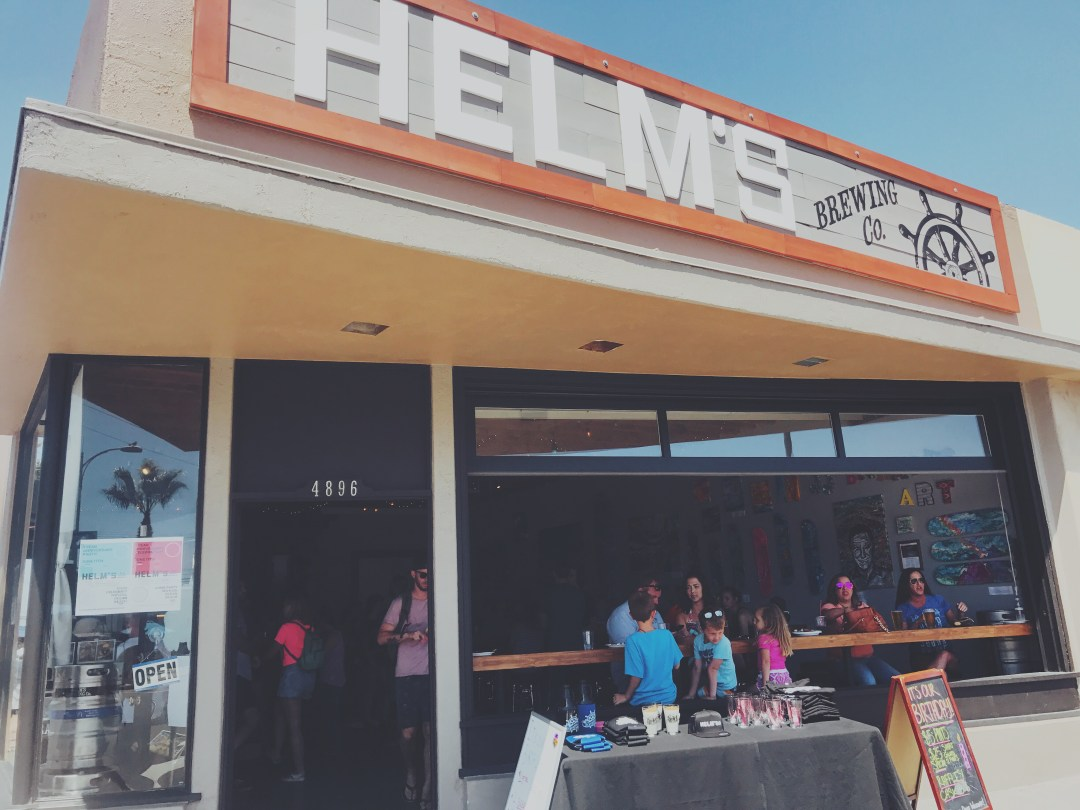 Helm's Brewing Co. in Ocean Beach