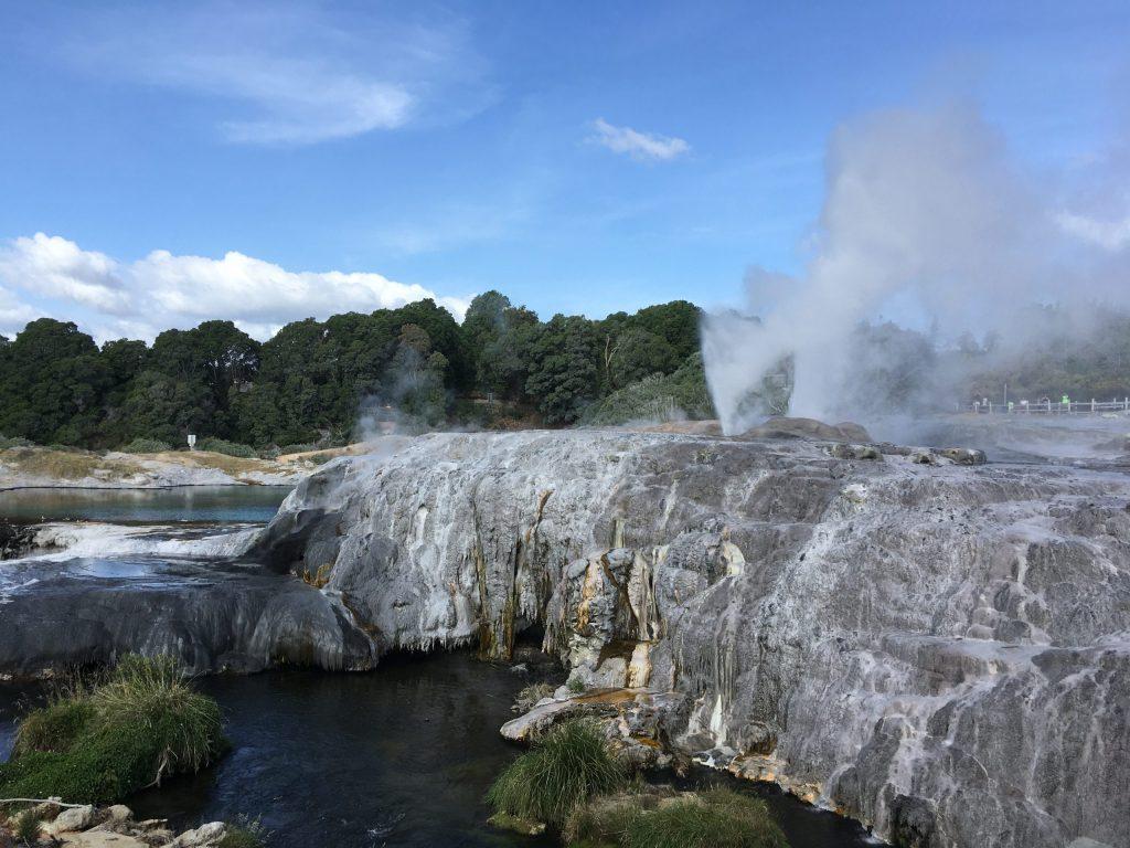 Some geysers geysering