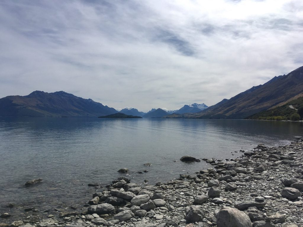 One of many astonishing views on the way to Glenorchy