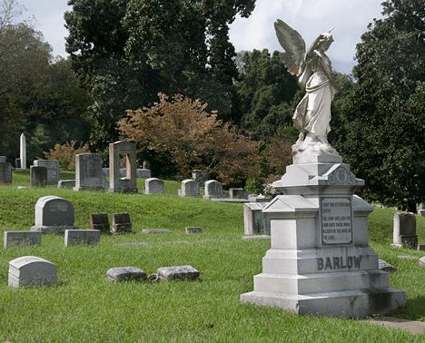 The barlow family plot
