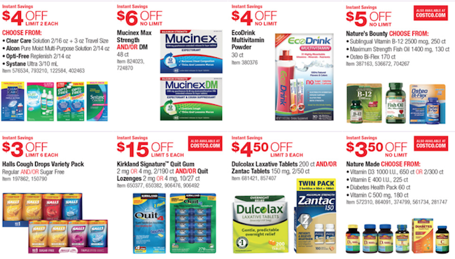 Costco Deals Booklet December 2015 Weekly Ads