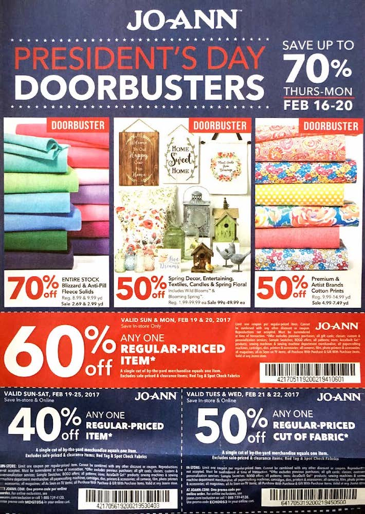 JoAnns Weekly Ad For This Week Weekly Ads
