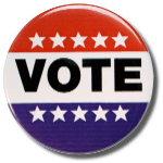 Vote badge
