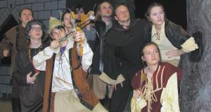 """The Somewhat True Tale of Robin Hood."" Crestwood HS Mantua Ohio"