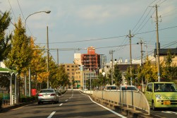 Good weather in Nagoya.