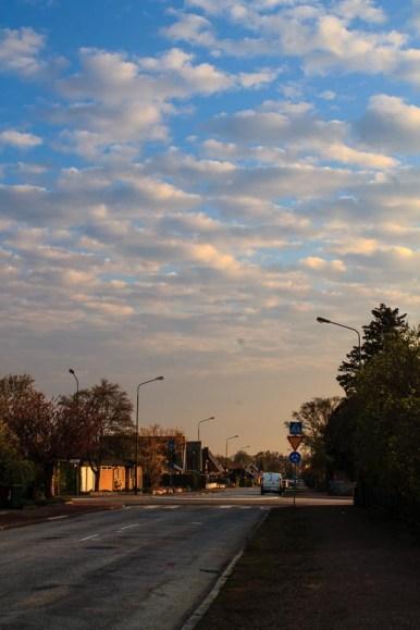 Lovley morning sky.