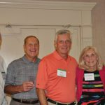 (L to R) Bob Haner, Craig Wilson, Steve Marlier, Susie Marlier, Bob DeJonghe
