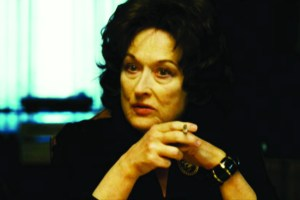 "Meryl Streep in ""August: Osage County"" is nominated once again."