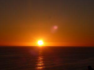 Sunset in Cabo San Lucas.