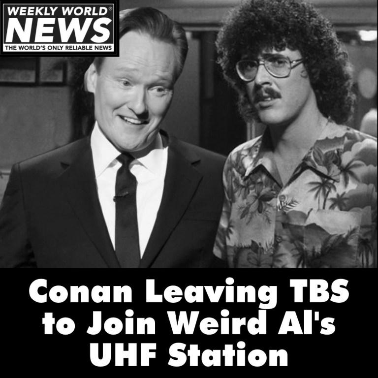 Conan Leaving TBS to Join Weird Al
