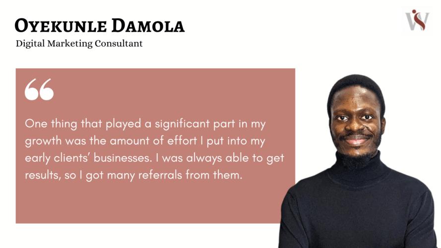 Oyekunle Damola's quote