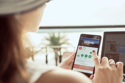 installation de l' application airbnb