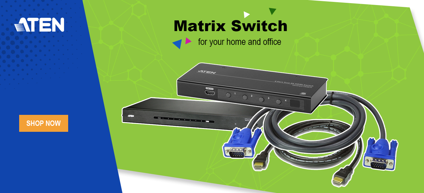 Weelago - ATEN Matrix Switch for your home and office