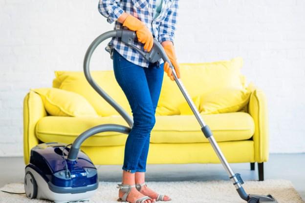 Vacumming Carpet