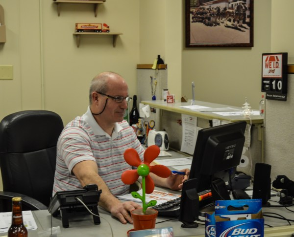 Doug Hennen first gained employment with Carenbauer Distributing in 1985. He now serves as the office manager.