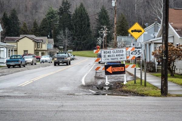 Sardis - Road Closed