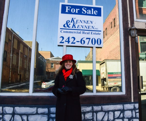 Ashmore sells many homes in the Wheeling area, but she also works hard marketing available properties in downtown Wheeling.