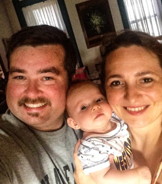 Jeremy and his wife Mihaela welcomed Amelia to the world in June 2014.