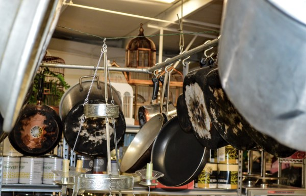 Bailey's East Wheeling commercial kitchen is an impressive one with pots and pans of shapes and sizes.