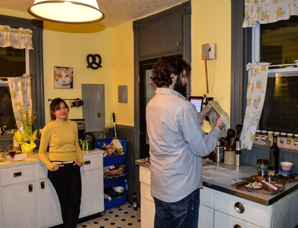 The Crofts split the household chores in their East Wheeling home, a dwelling that is located directly across from the entrance to the J.B. Chambers Recreation Park.