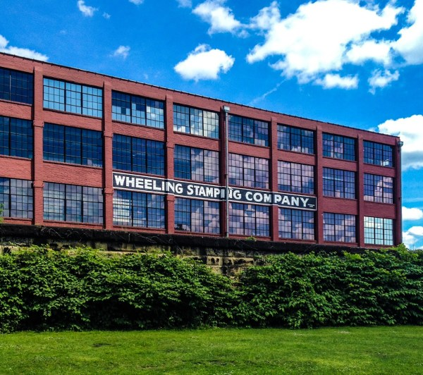 The  historic building that once housed the Wheeling Stamping Company was resurrected beginning in 2001.