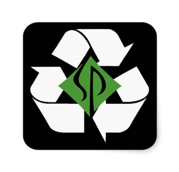 Scott Ludolph has developed a new logo for Scrappy Crappy's Recycling.