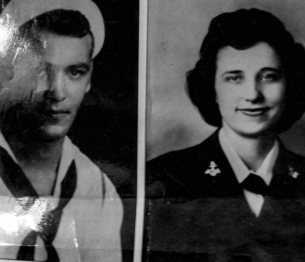 Dick and Bonnie met while both were serving in the American military.