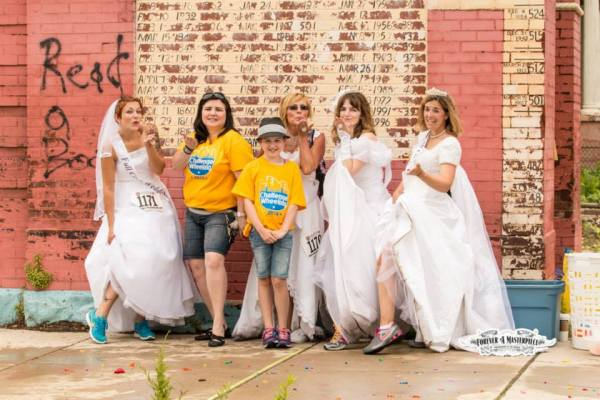 The Brides attracted a lot of attention no matter what clue they were solving.