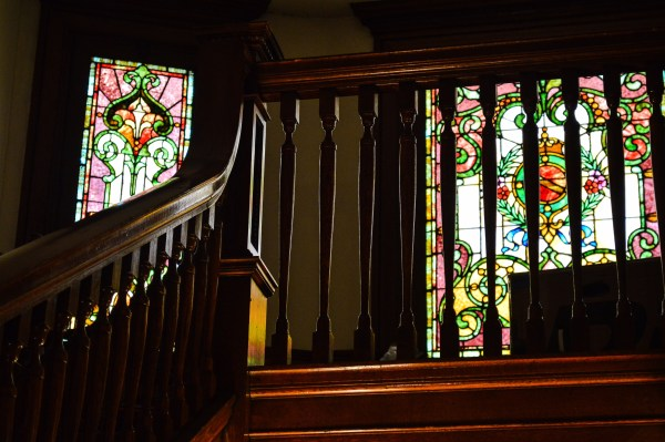 Good Mansion Wines operates inside the former L.S. Good Mansion, located at 99 14th Street near Wheeling Central Catholic High School.